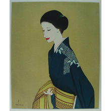 Takasawa Keiichi: Image of a beauty — 美人像 - Japanese Art Open Database