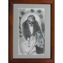 Takasawa Keiichi: Lovers Vow — 語らい - Japanese Art Open Database