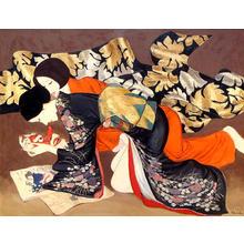 Takasawa Keiichi: The Lesson — レッスン - Japanese Art Open Database