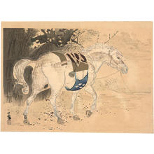 Takeuchi Seiho: Horse - Japanese Art Open Database
