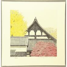 Tanaka Ryohei: Autumn Temple - Japanese Art Open Database
