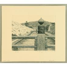 Tanaka Ryohei: Kyoto - 17 A Canal - Japanese Art Open Database