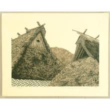 Tanaka Ryohei: Roof — 屋根 - Japanese Art Open Database