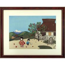 Taniuchi Rokuro: Camellia — 椿 - Japanese Art Open Database