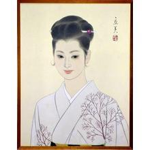Tatsumi Shimura: Bijin in Kimono — 和服美人図 - Japanese Art Open Database