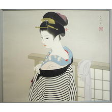 Tatsumi Shimura: Preparation — 仕度 - Japanese Art Open Database