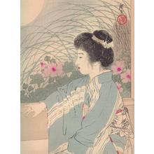 Tsukioka Kogyo: Night of Hope- Full Moon Night - Japanese Art Open Database