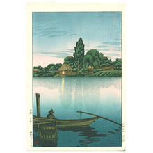 Toko: Ferry Landing at Ushibori — Suigo, Ushibori - Japanese Art Open Database