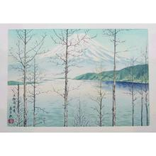 Tokuriki Tomikichiro: Early Spring at Motosu Lake - Japanese Art Open Database