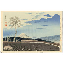 Tokuriki Tomikichiro: Fuji from Fujimi Tableland - Japanese Art Open Database