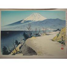 Tokuriki Tomikichiro: Izu Eri Coast — 伊豆江梨海岸 - Japanese Art Open Database