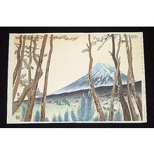 Tokuriki Tomikichiro: Mt Fuji - Japanese Art Open Database