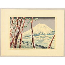Tokuriki Tomikichiro: Winter - Japanese Art Open Database