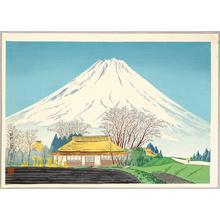 徳力富吉郎: Mt Fuji from Susono - Japanese Art Open Database