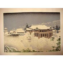 Tokuriki Tomikichiro: Kiyomizu Temple in Kyoto - Japanese Art Open Database