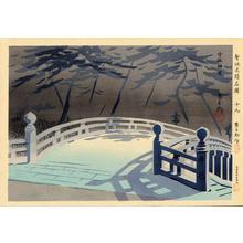 Tokuriki Tomikichiro: Usa Jingu Shrine, Kyushu — 宇佐神宮 - Japanese Art Open Database