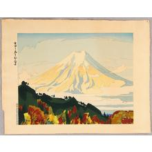 Ishikawa Toraji: Mt Fuji Seen from Yoshida - Japanese Art Open Database