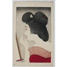 鳥居言人: Rouge- lipstick — くち紅 - Japanese Art Open Database