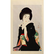鳥居言人: Tipsy — ほろ酔 - Japanese Art Open Database