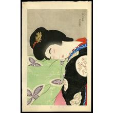 鳥居言人: Utatane- A nap- V1 — うたっ寝 - Japanese Art Open Database