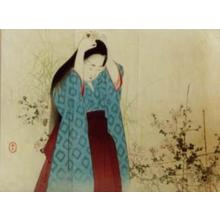 Mizuno Toshikata: Chrysanthemum Viewing — 菊見 - Japanese Art Open Database