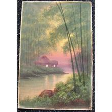 Tosuke S: Farm House in Bamboo Grove - Japanese Art Open Database