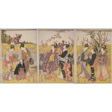 Utagawa Toyohiro: Plum Blossom Orchard - Japanese Art Open Database
