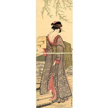 Utagawa Toyohiro: The Cool of Evening - Japanese Art Open Database