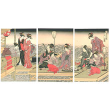 歌川豊広: June - Japanese Art Open Database