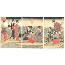 Utagawa Toyohiro: June - Japanese Art Open Database