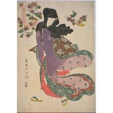 Utagawa Toyokuni I: Wind in Early Winter — 木枯し - Japanese Art Open Database