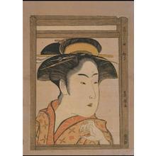 歌川豊国: The Beauty Takashima Hisa — 高しまひさ - Japanese Art Open Database