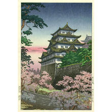 風光礼讃: Nagoya Castle - Japanese Art Open Database
