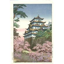 Tsuchiya Koitsu: Nagoya Castle - Japanese Art Open Database