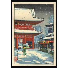 Tsuchiya Koitsu: Asakusa Kanzeme - Japanese Art Open Database