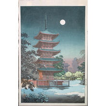 風光礼讃: Asakusa Kinryuzan - Japanese Art Open Database