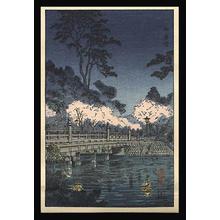 風光礼讃: Benkei Bridge - Japanese Art Open Database