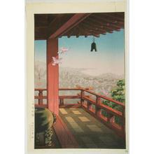 風光礼讃: Evening Bell at Mii Temple — 三井寺晩鐘 - Japanese Art Open Database