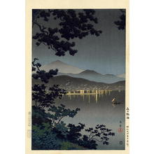 Tsuchiya Koitsu: Evening at Atami - Japanese Art Open Database