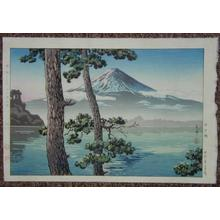 風光礼讃: Fuji from Lake Kawaguchi - Japanese Art Open Database