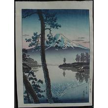 Tsuchiya Koitsu: Fuji from Tago Bay - Japanese Art Open Database