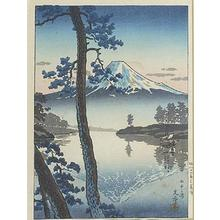 風光礼讃: Fuji from Tago Bay - Japanese Art Open Database