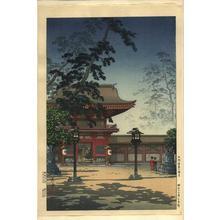 風光礼讃: Hakozaki Hachimangu Temple, Kyushu - Japanese Art Open Database