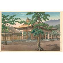 Tsuchiya Koitsu: Kashiwara Shrine - Japanese Art Open Database