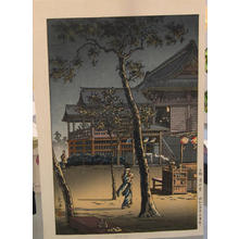 風光礼讃: Kiyomizudo In Ueno — 上野清水道 - Japanese Art Open Database