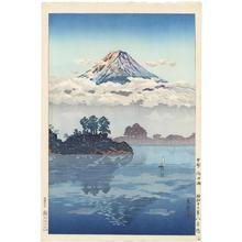 風光礼讃: Koshu Lake Kawaguchi — 甲州 河口湖 - Japanese Art Open Database