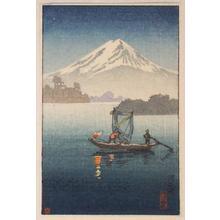 Tsuchiya Koitsu: Lake Kawaguchi — 河口湖 - Japanese Art Open Database