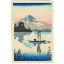 Tsuchiya Koitsu: Lake Kawaguchi - Japanese Art Open Database