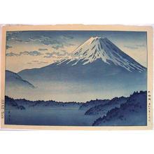 Tsuchiya Koitsu: Lake Motosu - Japanese Art Open Database