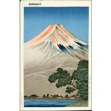 Tsuchiya Koitsu: Lake Yamanaka — 山中湖 - Japanese Art Open Database